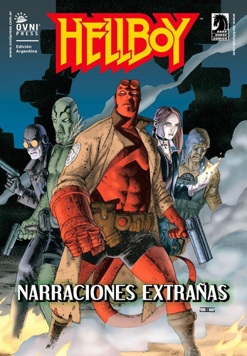hellboy * narraciones extrañas * mike mignola *