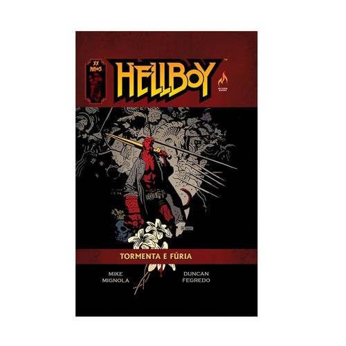 hellboy tormenta e furia volume 9