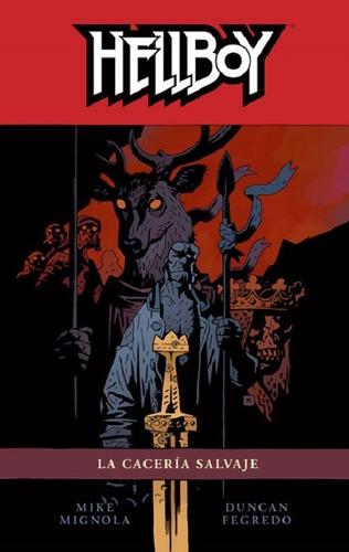 hellboy volumen 9: la caceria salvaje