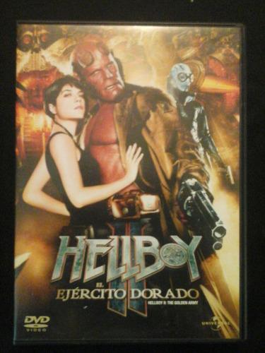 hellboy y el ejercito dorado