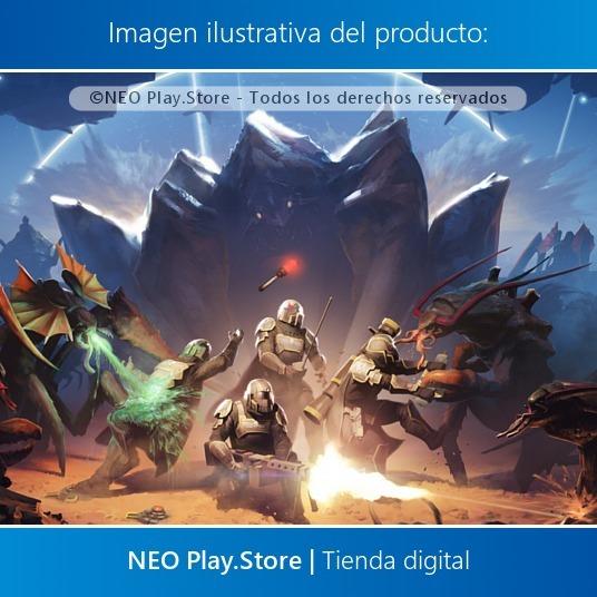 Helldivers Juego Ps4 Cooperativo Multijugador Online Nuevo 219