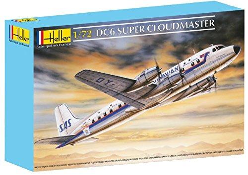 heller dc-6 cloudmaster kit de construcción de modelo de av