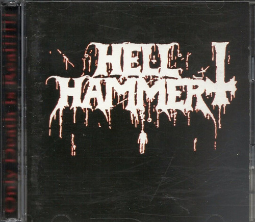 hellhammer only death is real black(ex+/ex-)2cd import***