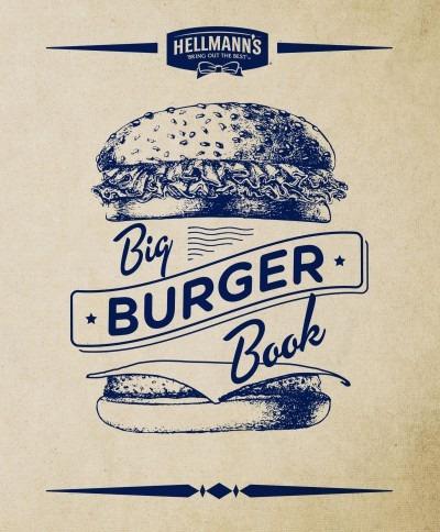 hellman s big burger book(libro gastronomía y cocina)