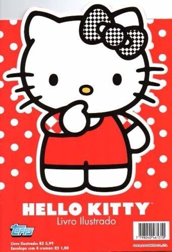 hello kitty, album completo com figurinhas soltas para colar