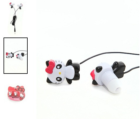 hello kitty audifonos panda earbuds hot topic