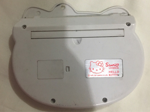 hello kitty calculadora blanca japón usada bien estado