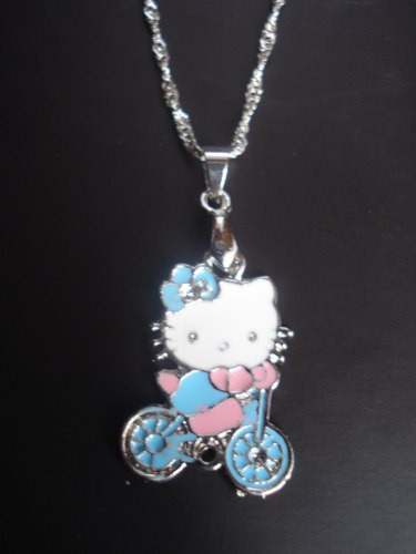 hello kitty collar cadena 18kgp