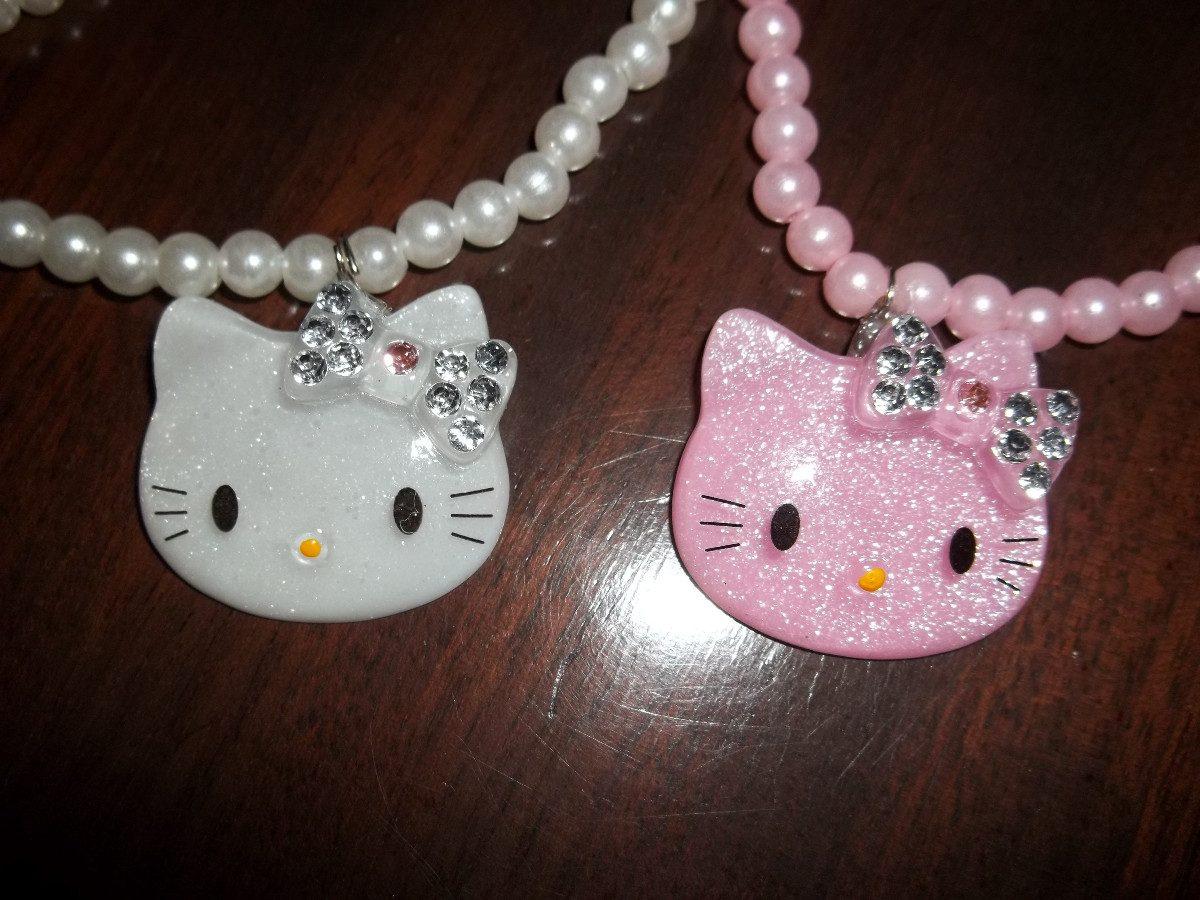 04e9c93367a3 Hello Kitty Conjunto De Bijou Anillo