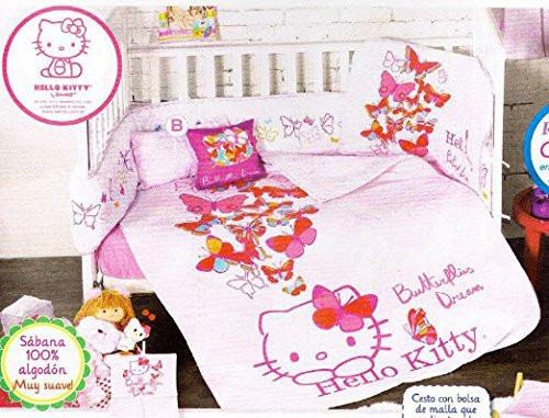 hello kitty cunero colcha sabanas cojin almohada rosa nina m