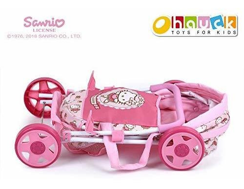 hello kitty, d86582 doll pram, toy.