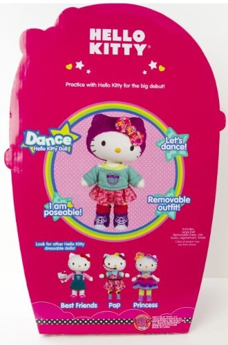 hello kitty dance large doll