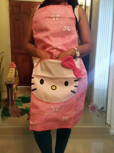 hello kitty delantal para cocinar chef decora cocina keropy