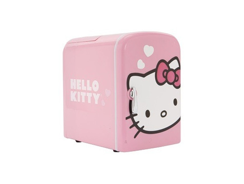 hello kitty frigobar portatil enfria y calienta original