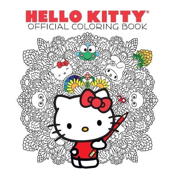 Hello Kitty Libro Oficial Colorear Mandalas (nuevo) - $ 890.00 en ...