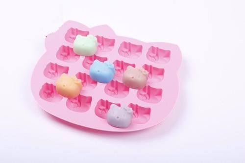hello kitty molde silicona chocolates, bocaditos, hielo,masa