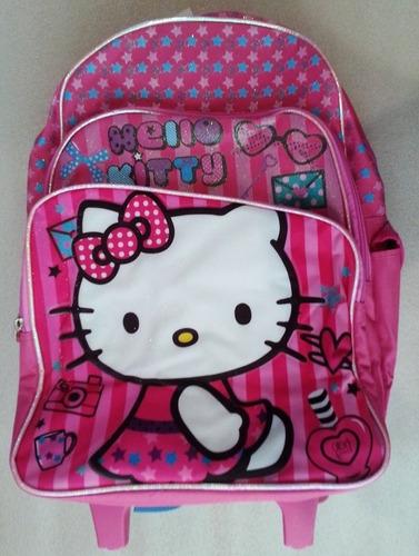 hello kitty morral maleta grand y lonchera escolar import or