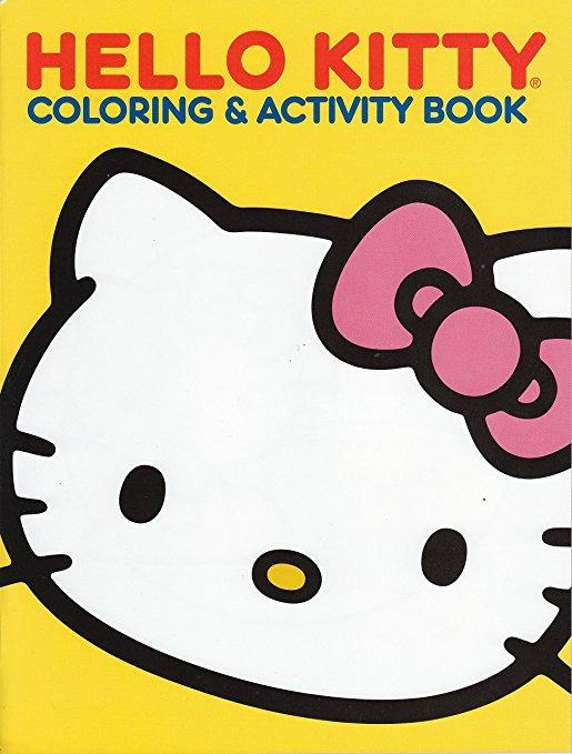 Hello Kitty Para Colorear Y Libro De Actividades 64 Págs. (c ...