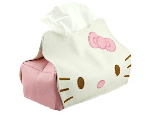 hello kitty porta papel tissue kawaii