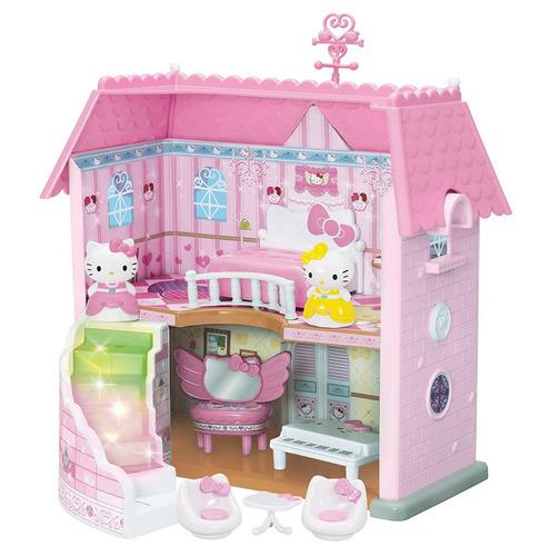 hello kitty princess house toho sanrio (con luces led) nuevo