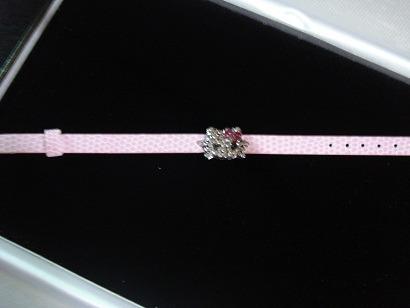 hello kitty pulsera muy de moda correa rosada