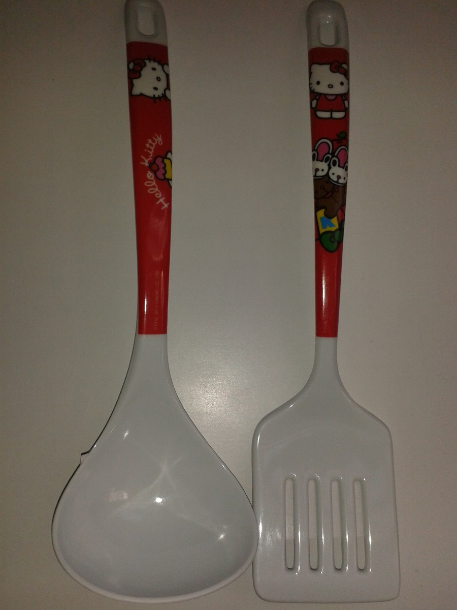 Hello kitty set utencilios para cocina envio gratis for Utensilios de cocina hello kitty