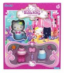 hello kitty sirenita-para vestir-incluye a kitty!