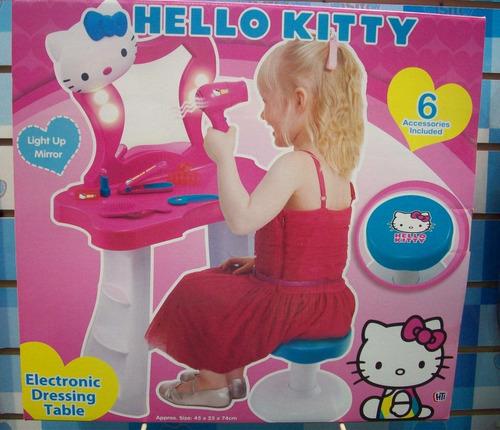 hello kitty tocador electronico luces y sonidos int 1680484