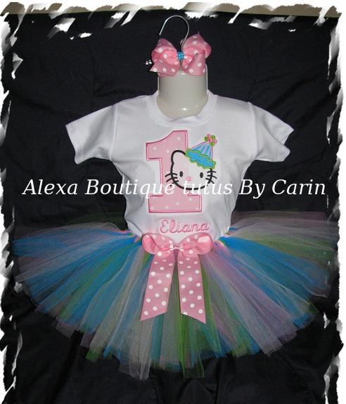 Hello Kitty Tutu Vestido De Niña Para Fiesta Cumpleaños