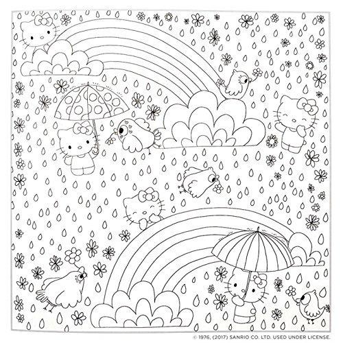 Hello Kitty \\u0026 Friends Para Colorear Libro - $ 95.900 en Mercado ...