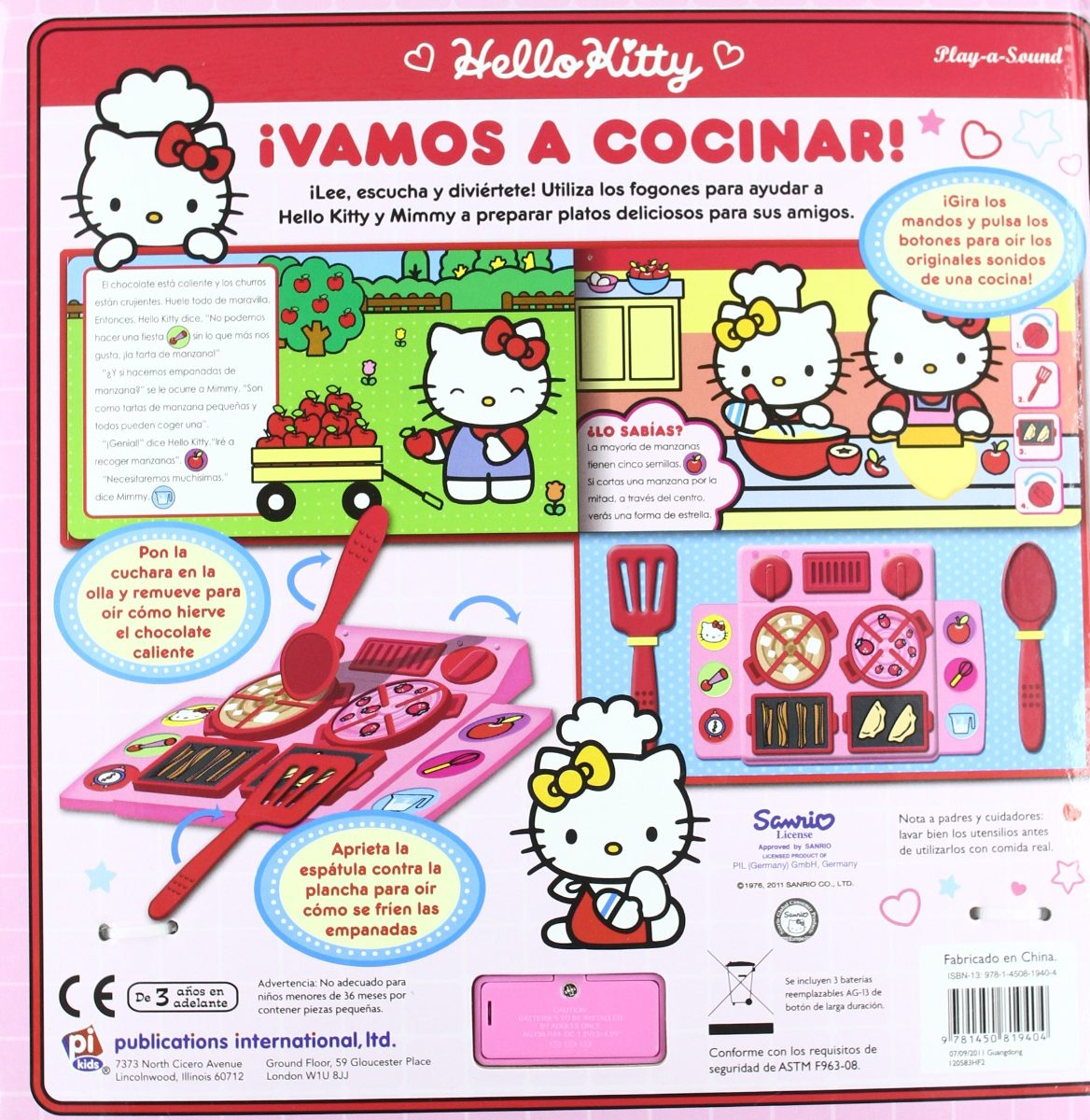 Hello Kitty Vamos A Cocinar ! Hd Libros. Cargando Zoom.