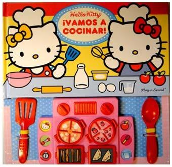 Awesome Hello Kitty Vamos A Cocinar Libro Dial Book 3663