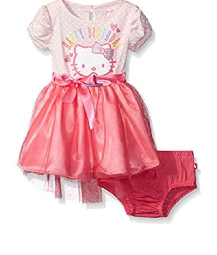 Hello Kitty Vestido Tutú Bebé Rosa Fiesta Baby Princesa - $ 260.00 ...