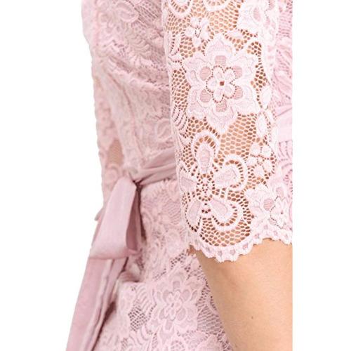 hello miz vestido de encaje floral hello