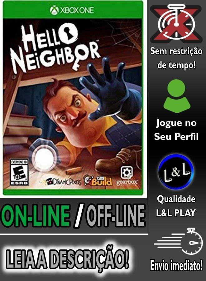 Hello Neighbor Xbox One Digital On/off S/restrição + Brinde