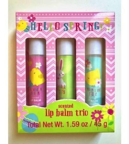 hello spring - lip balm trio