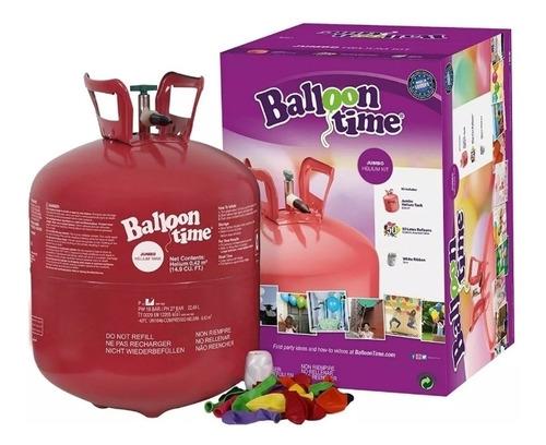 hello tanque para inflar bombas + 50 globos fiesta