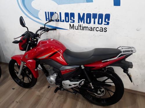 hellos motos titan 160 2016 aceito moto fin 48x cartao 1,6%