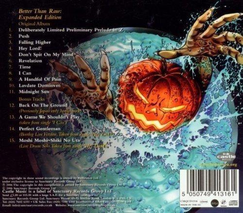 helloween better than raw uk import  cd
