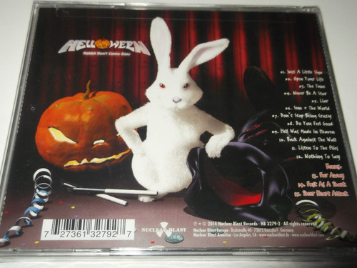helloween cd rabbit come easy gamma ray edguy hammerfa dist0