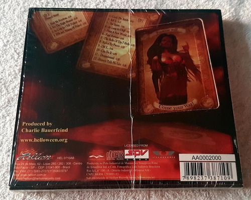 helloween - gambling with the devil 2cds