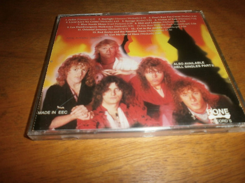helloween hell singles  cd