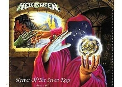 helloween keeper of the seven keys: the legacy import cd x 2