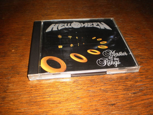 helloween master of the rings (cd doble) gamma ray .