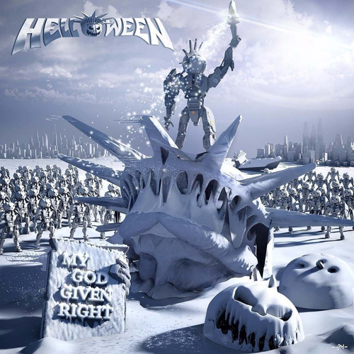 helloween - my god-given right -lmd edition digipack tapa 3d
