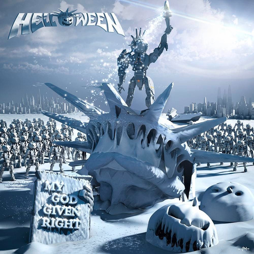 helloween - my god given right - nuevo vinilo doble