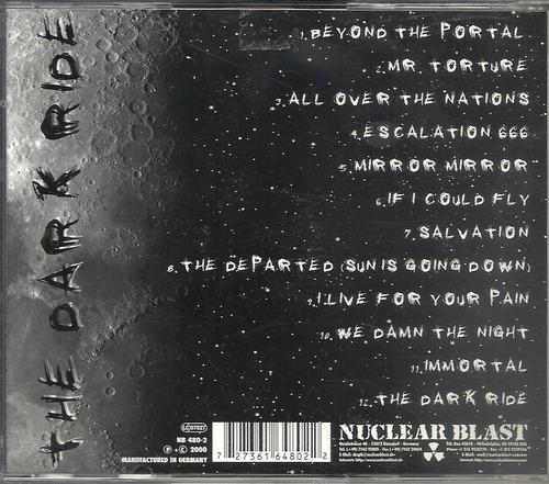 helloween the dark ride 00 heavy(ex+/vg+)cd import***