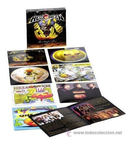 helloween: the singles box 1985-1992.( avantasia )