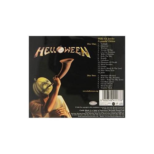 helloween wall of jericho uk import cd x 2 nuevo