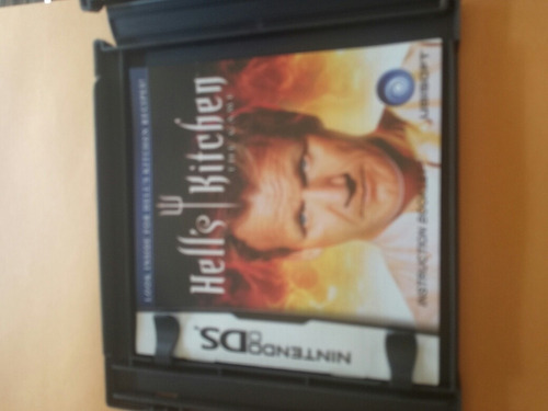 hells kitchen the game nintendo ds chef cocina master chef
